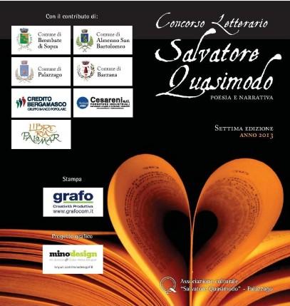 VII EDIZIONE CONCORSO LETTERARIO SALVATORE QUASIMODO - ANNO 2013