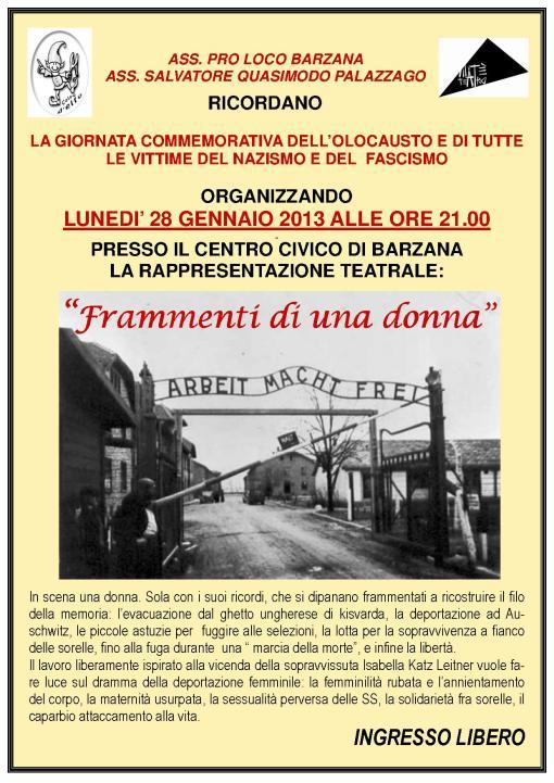 Giorno della memoria dell'Olocausto