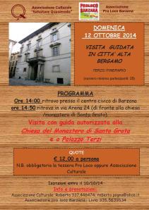 VISITA CITTA' ALTA 12-10-14