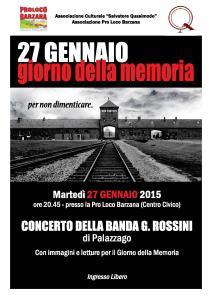 27 Genn_Giorno della Memoria 2015