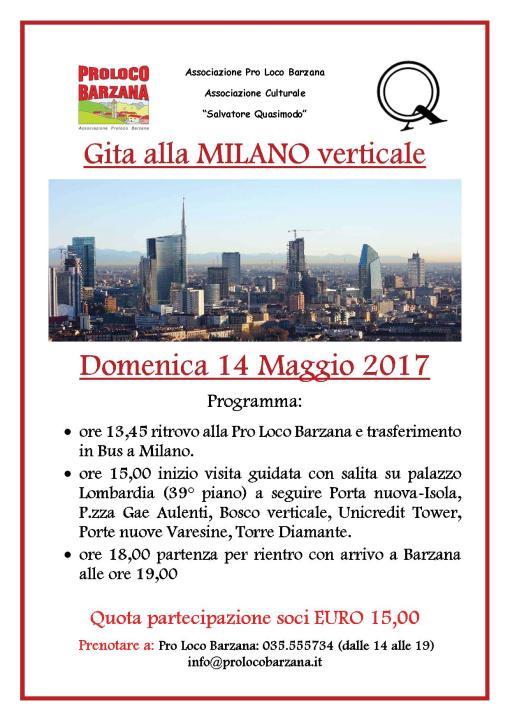 2017 gita Milano Verticale