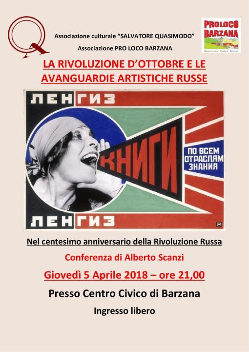 Rivoluzione Russa 5-4-18
